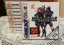 Metal Gear Solid Gameboy Color New  (n1)
