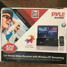 "Pyle Plts78Dub 7"" Touch Screen Cd/Dvd/Mp3 Car Player For Parts"