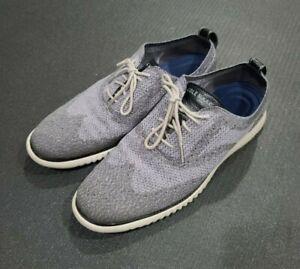 Cole Haan 2.ZERØGRAND Wingtip Oxford Grey Size 11.5