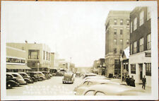 1930s Realphoto Postcard: Second Avenue View - Dodge City, Kansas KS