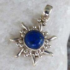 Unbehandelter Echtschmuck mit Lapis Lazuli-Anhänger