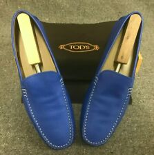 Tod's $495 | Driving Shoes | Blue | US13 |