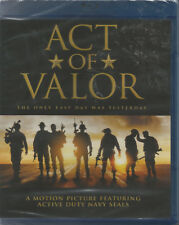 Act of Valor (Blu-ray Disc, 2017) NEW