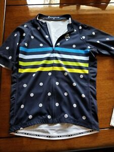 PANACHE Cycling Stripe Dot Pro Jersey - short sleeve - Men's Large