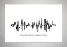 Bring Me The Horizon - Hospital For Souls - Sound Wave Print Poster Art