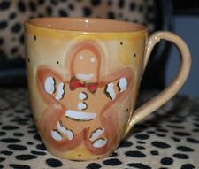Starbucks Christmas Holiday Coffee Mug Gingerbread Man Tea Cup 4""
