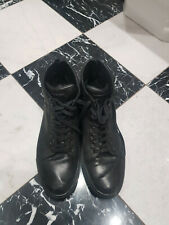 Belstaff Mens Boots Black Size 10 Uk 44