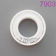 7903 Full Ceramic Zirconia Oxide Angular Contact Ball Bearing ZrO2 17 x 30 x 7mm