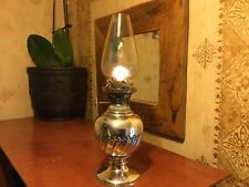 Oil Lamp Silver Plate William Owen