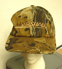 MARSHALL DISTRIBUTING baseball hat ATV camouflage cap snowmobile logo snapback