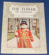 THE PICTORIAL GUIDE TO THE TOWER OF LONDON 32 PAGES PITKIN PICTORIALS 1966