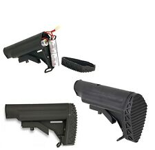 Jg WorksToy Airsoft 416 Style Crane Stock M Series Retractable Battery Holder