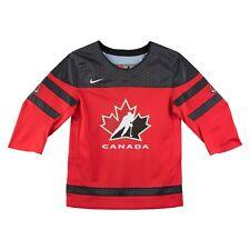 2018 Team Canada Hockey IIHF World Juniors Red Replica Jersey - Child Age 7