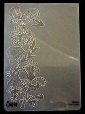 Sizzix Large Cartella Goffratura VITE floreale con uccellino si adatta Cuttlebug & Wizard