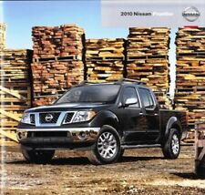 2010 10 Nissan Frontier  original sales brochure Mint