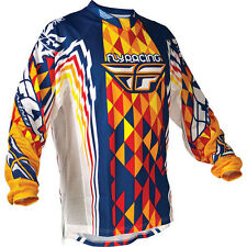 Fly Racing Kinetic Deviant Jersey Adult size Small