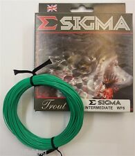 Shakespeare Sigma Intermediate Fly Line WF AFTM# 6-8 Trout Salmon Fly Fishing