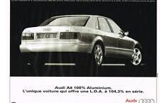 PUBLICITE ADVERTISING  1995    AUDI A 8