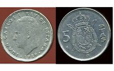 ESPAGNE 5 pesetas 1989
