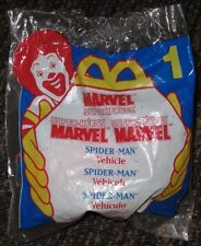 1996 McDonalds Happy Meal Toy - Spider-Man Vehicle #1 - Marvel