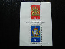 ALLEMAGNE RFA - timbre - Yvert et Tellier bloc n° 8 n* stamp germany
