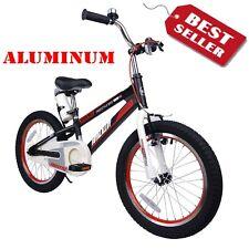 Royalbaby BMX Aluminum 16'' Kids Boys Bike 16 inch Girls Bicycle Black Color