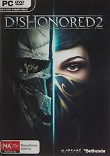 Dishonored 2 Assassin Style Game For Windows PC DVD ROM w/Steam Activation + DLC