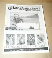 1999 Long Agribusiness Disc Mowers 7170/7180/7190 Owner's Manual P/N 751380
