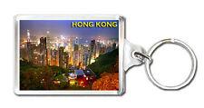 HONG KONG SKYSCRAPERS MOD4 KEYRING SOUVENIR LLAVERO