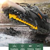 Mens Mesh Breathable Water Shoes Aqua Climbing Outdoor Hiking Waterproof Flats
