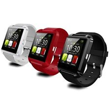 Smart Watch U8 Bluetooth Orologio Touch per Smartphone Android ed Ios Smartwatch