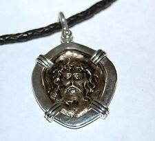 Christ Pendant Necklace Hand Cast ~ Sterling Ingots & Copper ~ Shipwreck Atocha