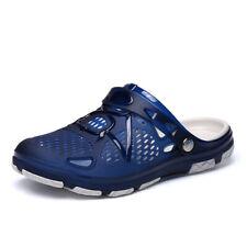 ZEACAVA Fashion Summer Men Odourless Breathable Beach Slippers Sapphire Blue 42