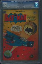 Batman 59 CGC 5.5 Golden Age Key DC Comic 1st App Deadshot IGKC L@@K