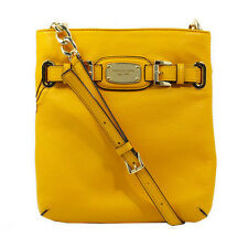 Michael Kors Bag 35F2GHMC3L MK Hamilton Large Crossbody Leather Sun #COD Paypal