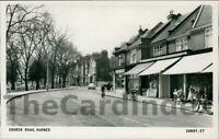 BARNES Church Road Postcard LONDON Anon