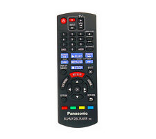 Brand New Remote for Panasonic DMP-BDT170EB 3D Smart Blu-ray/DVD Player With 4K