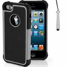 Étuis, housses et coques gris en silicone, caoutchouc, gel pour téléphone mobile et assistant personnel (PDA) Apple