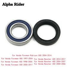 Left Rear Axle Wheel Hub Bearing & Seal For Honda TRX 450 Foreman S ES 4x4