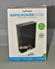 myCharge Rapid Power Ultra Portable Charger 10400mah Power Bank, Black