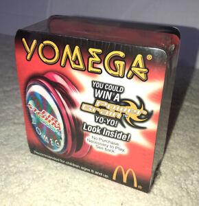 Yo Yo McDonalds 2000 Firestorm Yomega Firestorm Woofer YO-YO #5 Red NEW