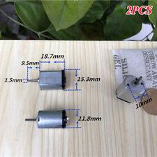 2PCS FF-030PK DC 1.5V 3V 4.5V 17000RPM High Speed Micro 15mm Electric DC Motor