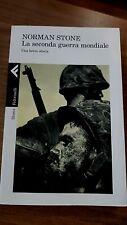 La seconda guerra mondiale Una breve storia NORMAN STONE Feltrinelli libro nuovo