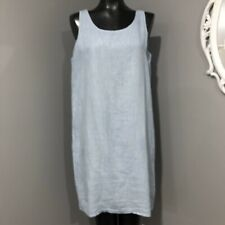 Size 40 Italy/ 4 USA Small - 100% LIN BLANC Linen Casual Dress