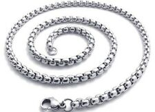 """Charms Necklace Unique Chain Stainless Steel 24""""Link Vogue Jewerly Free Shipping"""