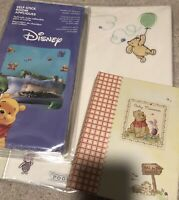 Vintage Embossed Hallmart Winnie The Pooh Photo Album + Extras