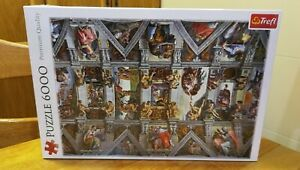 Trefl Puzzle 6000 Pieces Sistine Chapel ceiling Michelangelo Buonarroti