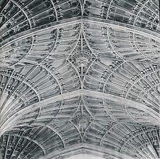CAMBRIDGE c. 1950 - Plafond de la Chapelle King's Collège Angleterre - Div 5531