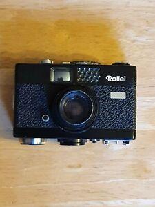 Rollei 35B 35mm film camera.