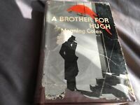 A BROTHER FOR HUGH BY MANNING COLES 1st EDITION 1947